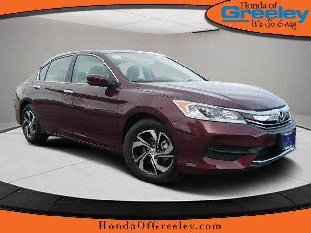 new 2017 honda accord lx 4dr car in greeley 17h130 honda of greeley. Black Bedroom Furniture Sets. Home Design Ideas
